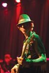 <b>JAMMIN'</b> Pacific Soundrise bassist Shaun Read lays down some 4/20 licks.