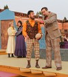 <b>TO ERROR IS HUMAN</b> Jared Wright, left, and William J. Brown get confused in 'Comedy of Errors.'