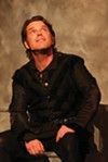 <b>SWEET PRINCE</b> Keith Baker marvels as a brooding 'Hamlet.'