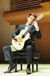 Xavier Jara plays classical guitar at SSU's Guitar Guest Concert
