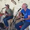 Jerry and Martin at Tara Firma benefit