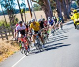Breaking Away at the Jensie Gran Fondo