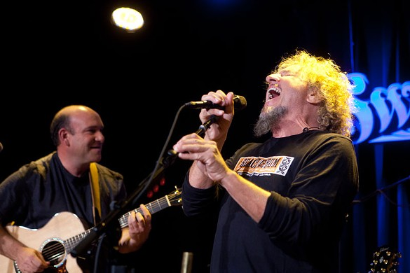 Bob Weir & Sammy Hagar at Sweetwater Music Hall