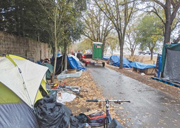 Locals support homeless