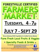 Forestville Certified Farmers Market - Uploaded by Mary Rand