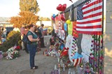 DEATH DU JOUR Mass shootings in America, like this scene from San Bernardino, have become all too common.