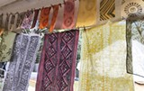 Block printing with natural dyes - Uploaded by Black Rock Ranch