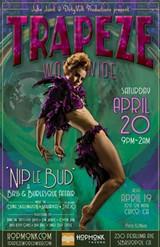 TrapezeSEB: 'Nip Le Bud' Whirled Tour - Apr 20, 2019 - Hopmonk Tavern, Sebastopol - Uploaded by boenobo