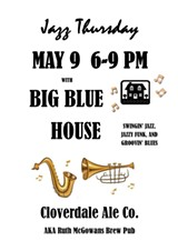 BIG BLUE HOUSE at Ruth McGowan's, MAY 9 - Uploaded by P Schneide