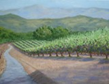 Painting by Nancy Woods - Uploaded by Moshin Vineyards