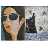 Alex Katz & Kiki Smith Tapestries - Uploaded by dallas 2