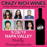 Crazy Rich Wines - Uploaded by The Laugh Cellar
