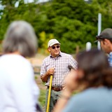 Farmer John in CIA at Copia Gardens - Uploaded by j_moncad