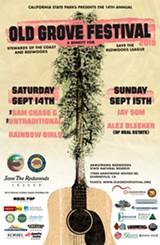 Old Grove Festival: September 14 & 15 - Uploaded by SaveTheRedwoods