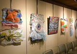 """Upcycled Plastic,"" an exhibit of artwork made from plastic refuse by Santa Rosa artist Paula Strothers - Uploaded by Fulton Gallery"
