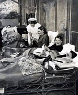 Patients at the Arequipa Sanatorium - Uploaded by Sonoma County History & Genealogy Library
