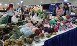 One of more than 60 gem and jewelry booths visitors will see at the Santa Rosa Gem Faire. - Uploaded by gemfaire