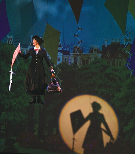 UP WHERE THE AIR IS CLEAR Heather Buck plays a spot-on Mary Poppins in Spreckels' production.