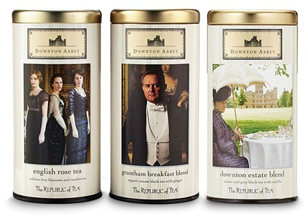 UPSTAIRS/DOWNSTAIRS In addition to jewelry at Macy's, Downton Abbey now has its own tea, by Novato's Republic of Tea.
