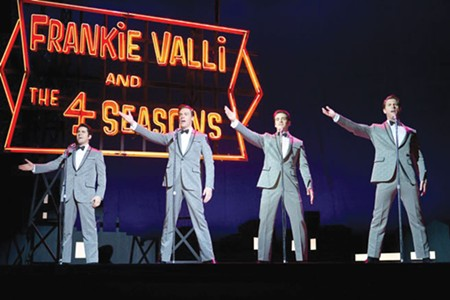 VOICE OF ANGELS The music of the Four Seasons makes gangsters weep in 'Jersey Boys.'