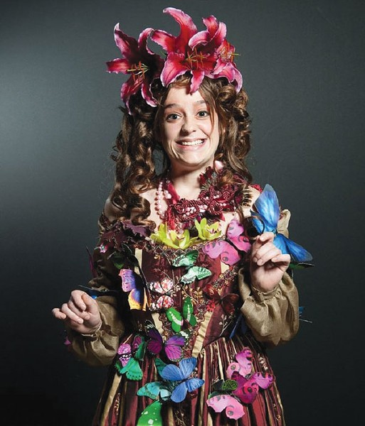 WACKY MAGIC Lauryn Hochberg as Moth in 'Peaseblossom.'