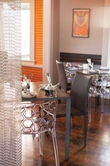 WELL APPOINTED The remade interior at Bravas represents the Starks' attention to design. - SARA SANGER