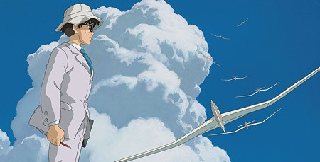 WILD BLUE Joseph Gordon-Levitt voices Japanese fighter-plane engineer Jiro Horikoshi in Miyazaki's last film.