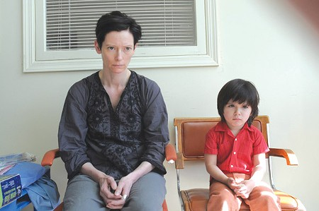 WRONG TURN Tilda Swinton plays the mother of a very disturbed child.