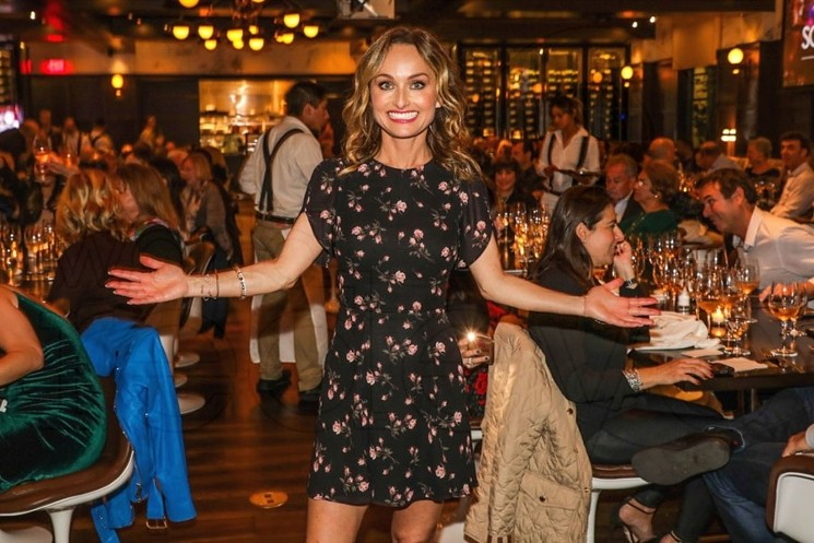 Giada De Laurentiis will be honored at the SOBEWFF Tribute Dinner. - PHOTO BY WORLD RED EYE