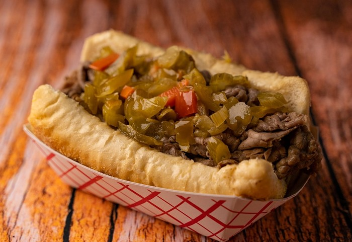 Chicago Me Up's Italian beef sandwich - PHOTO COURTESY OF CHICAGO ME UP