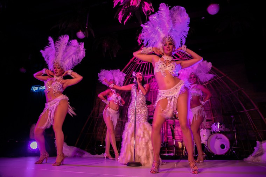 Kuba Cabana's cabaret show - PHOTO COURTESY OF KUBA CABANA