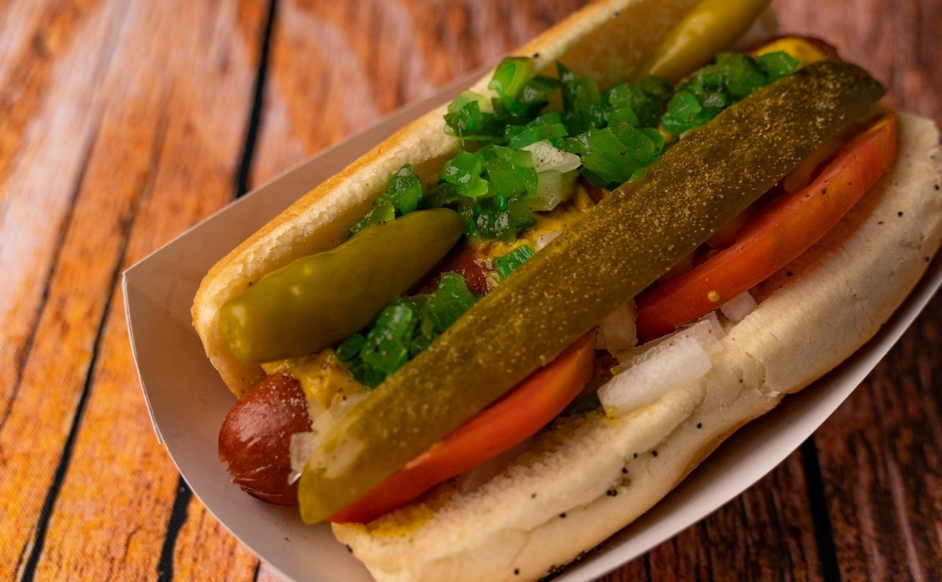 A Chicago Me Up Chicago dog