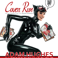 Artist Adam Hughes <em>Runs</em> into Charlotte tonight