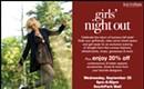 Upcoming: Belk's Girls' Night Out