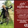Upcoming: Belk's Girls' Night Out