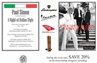 Upcoming: A Night of Italian Style
