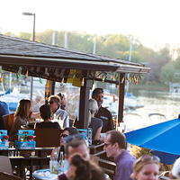 15. Sit on the deck at Rusty Rudder and reflect on life (or your age).