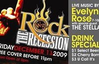 Rock the Recession with Evelynn Rose and The Stellas