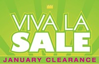 Clearance sale at Green With Envy