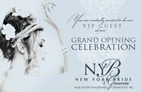 Upcoming: New York Bride & Groom's grand opening celebration