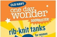 $2 tank sale at Old Navy