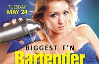 Tonight: Bartenders' competition