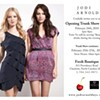 Tonight: Jodi Arnold Trunk Show at Fresh