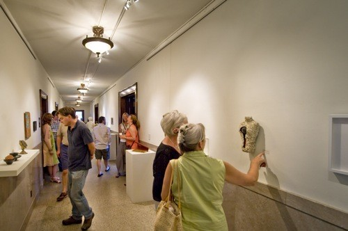 30 Small Works opening at Gallery Up in Rock Hill