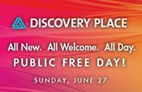 Public Free Day at Discovery Place