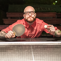 72. Strive to be ping-pong champion under the stars at Thomas Street Tavern.