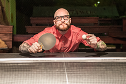 JUSTIN DRISCOLL - 72. Strive to be ping-pong champion under the stars at Thomas Street Tavern.