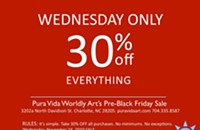 Pre-Black Friday sale from Pura Vida Worldly Art