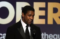Denzel is the king of the world