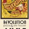 A beer dinner at Revolution Pizza
